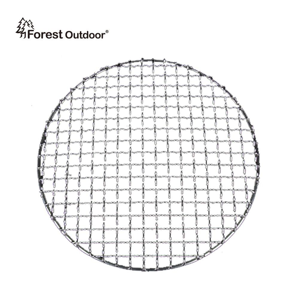 【岩谷 CB-P-AM3圓形烤網】食品級304不銹鋼 買二片送網叉 網燒達人 直徑25cm【愛上露營】