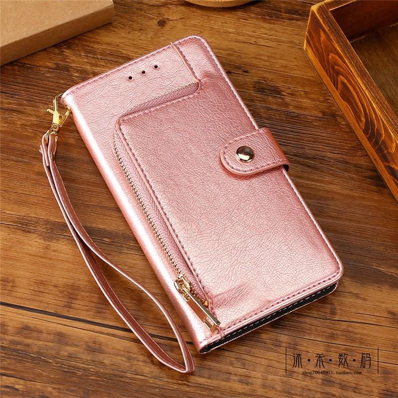 保護殼專賣 適用于LG G8S手機殼LMG810EAW插卡LG G8S ThinQ拉鏈錢包保護皮套 手機皮套