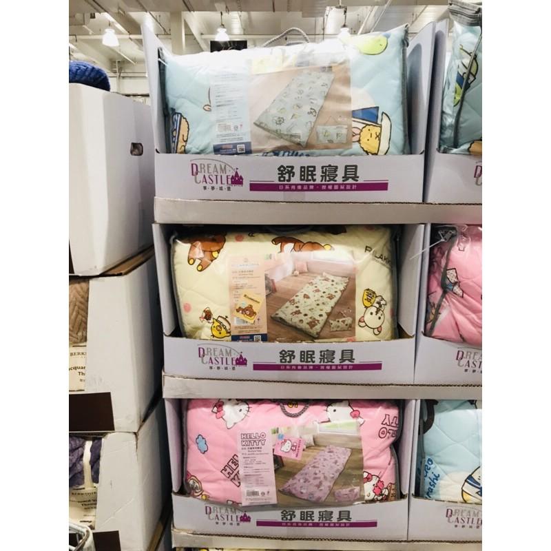 台灣製🇹🇼100%純棉卡通兒童睡袋 150x120公分 Hello Kitty/角落生物/哆啦A夢/史努比 附背袋 睡袋