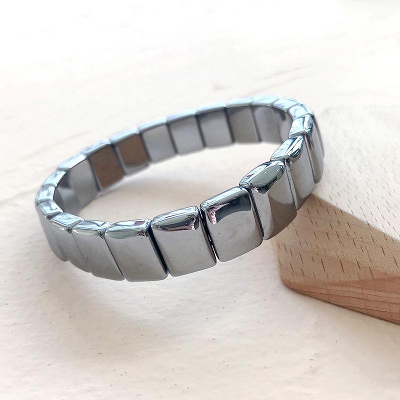 日韓熱賣太赫茲手排天然鈦赫茲手鍊男女閨蜜能量石手鍊飾品禮物