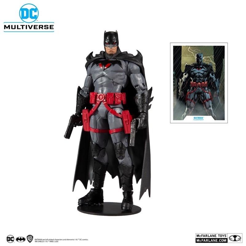 正版 代理 麥法蘭 DC Multiverse 7吋 Flashpoint 閃點蝙蝠俠 Batman 托馬斯韋恩 可動