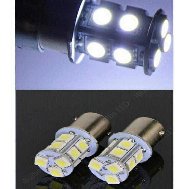 24V 1156/1157 5050 13晶 SMD 單芯燈泡 方向燈 倒車燈 白光 1顆$50