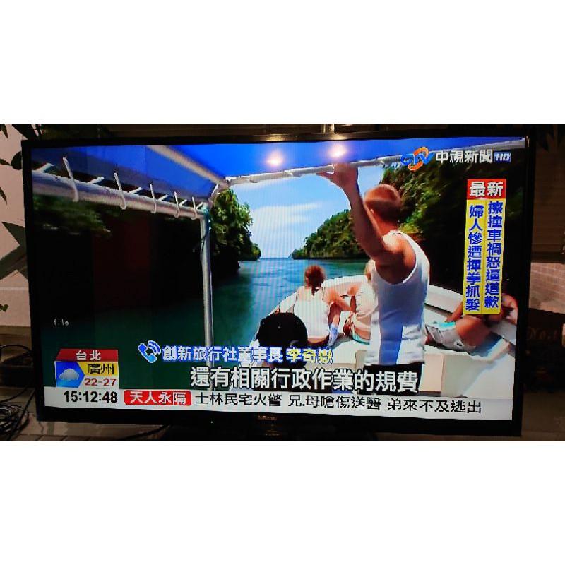 Infocus40吋中古二手鴻海液晶電視XT-40SP811附原廠遙控器(請詳讀商品描述)