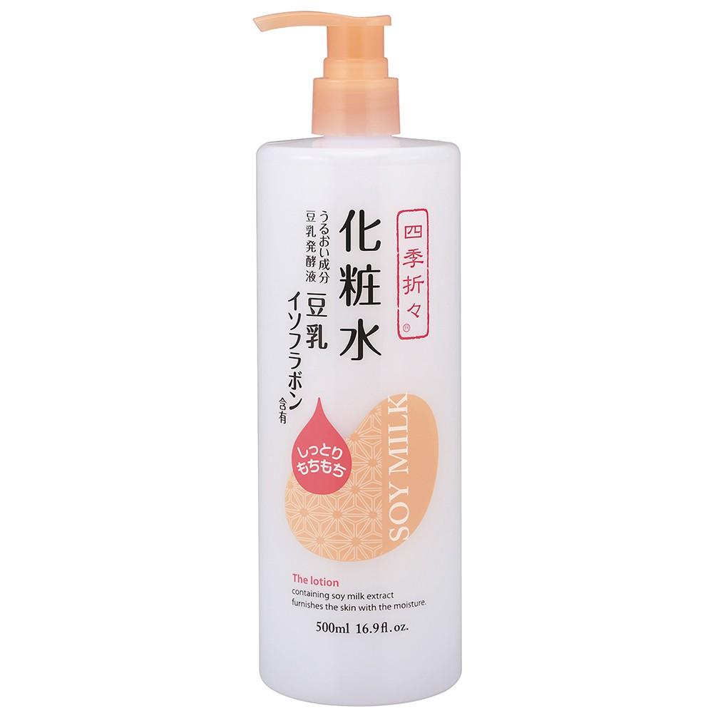 日本熊野油脂KUMANO 豆乳異黄酮化妝水 500ml