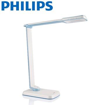 [飛利浦 PHILIPS] LED檯燈 (71663) 藍色 (二手)