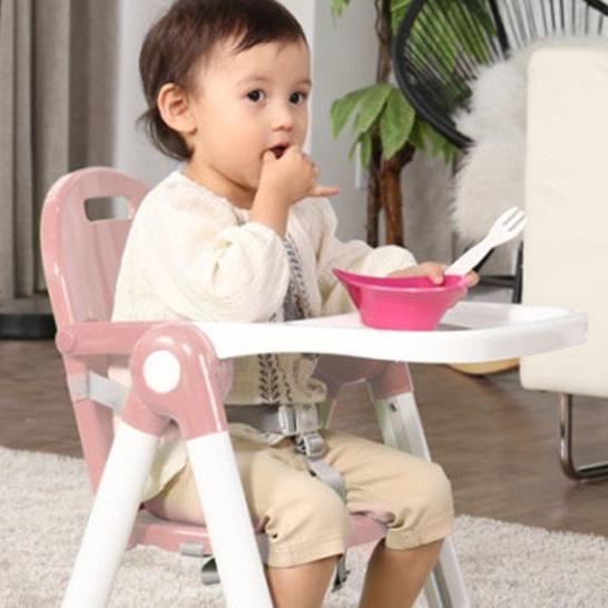 韓國KEENZ寶寶餐椅攜便式 嬰兒吃飯外出家用兒童餐桌椅矮款可折疊