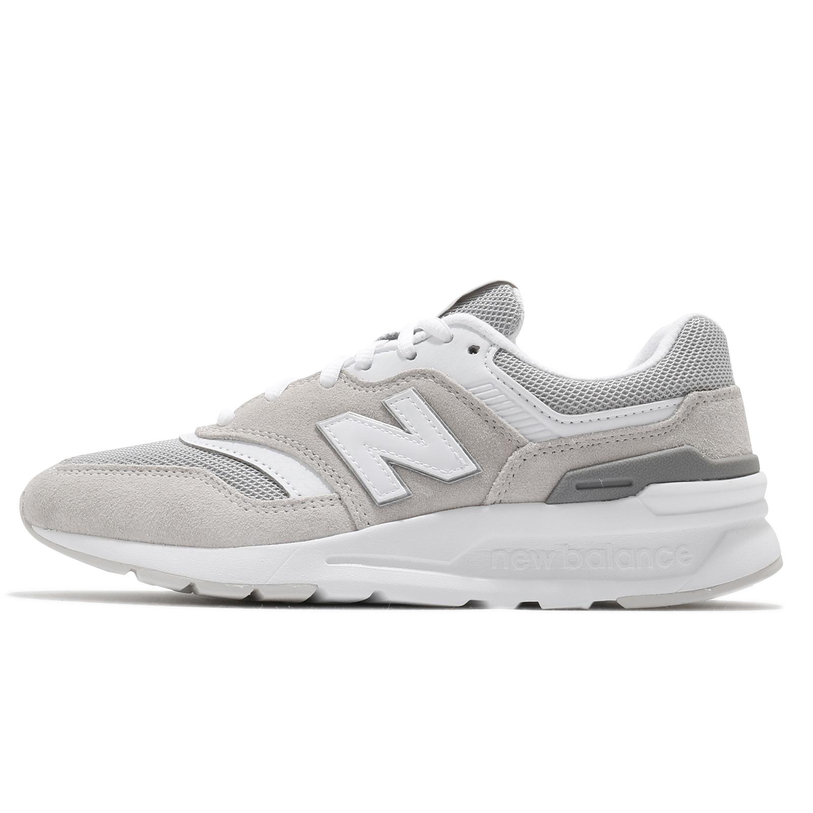 New Balance 休閒鞋 997H 女鞋 灰 白 麂皮 997 經典 穿搭 運動鞋 【ACS】 CW997HCRB
