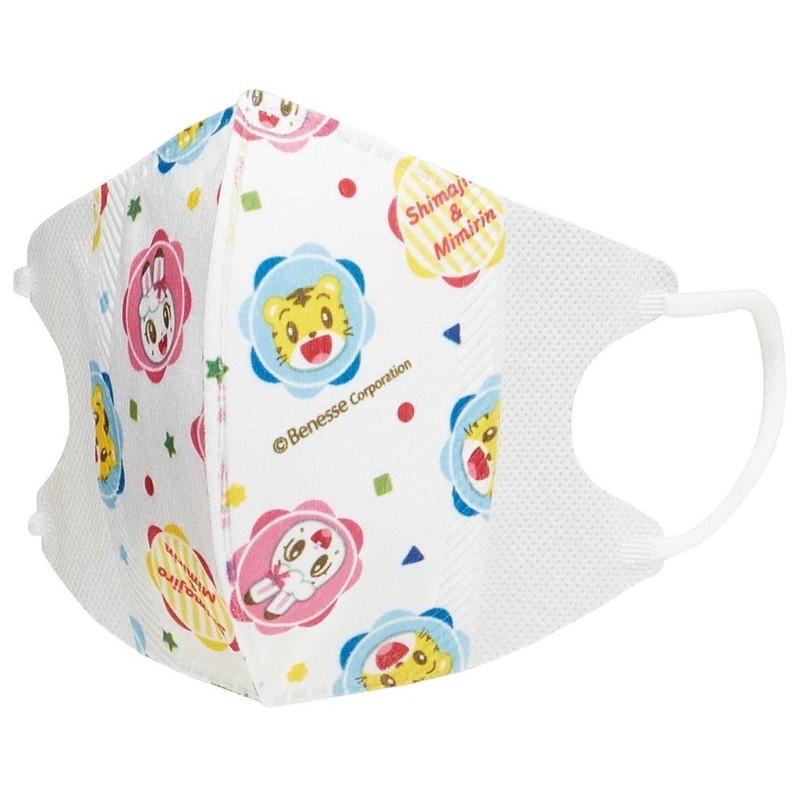 現貨可立即出貨日本SKATER兒童立體口罩10入4歲以上巧虎 三層防塵拋棄式舒適特殊耳繩設計久戴耳朵不痛