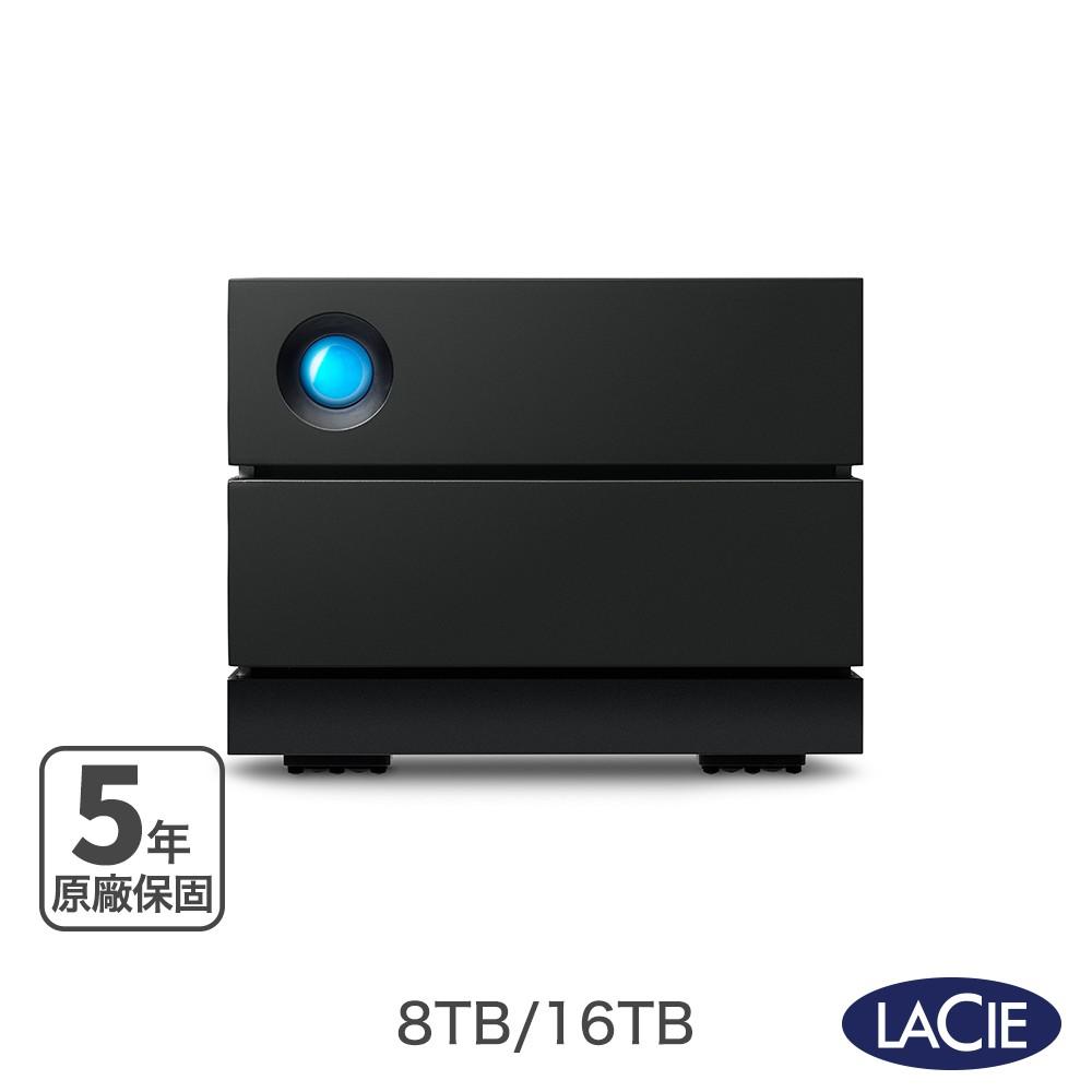 LaCie 萊斯 2big RAID USB-C 8TB|16TB|28TB|36TB  外接硬碟