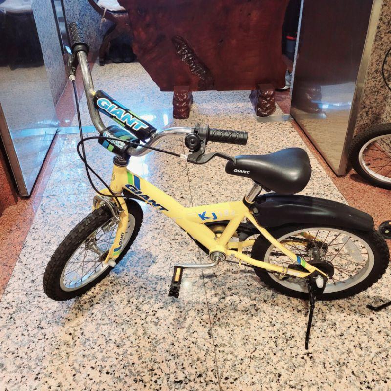 二手九成新 捷安特 Giant 兒童腳踏車16吋 小孩自行車Animator 原價3820元  KJ182 限自取