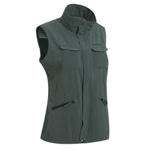瑞多仕 DA2386 女多口袋背心(拉鍊長版款) 軍綠麻灰色 登山 釣魚 戶外休閒 RATOPS