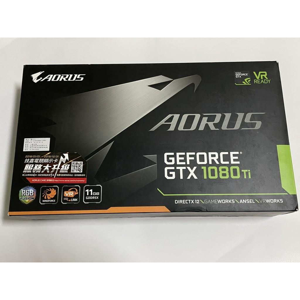 技嘉 AORUS GTX 1080 Ti 11G