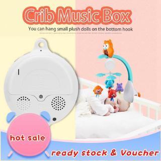 嬰兒搖籃床掛音樂鈴電動音樂盒12件甜美的旋律