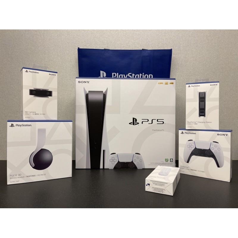 現貨全新未拆 Sony PlayStation 5 光碟版 首發大滿配 PS5