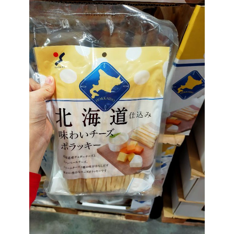 代購☀️Costco好市多 山榮北海道鱈魚起司條 2入☀️