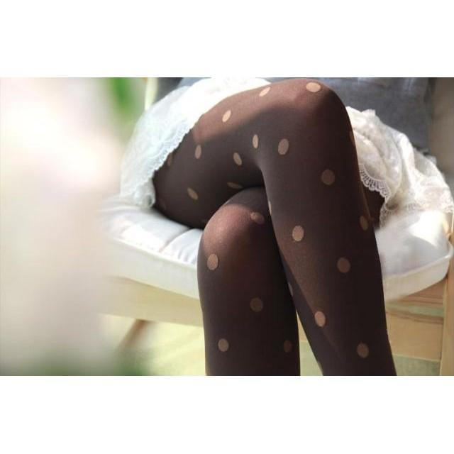 ((現貨))日系提花絲襪連褲襪春秋薄款防勾絲中厚顯瘦腿大碼外穿打底褲襪女
