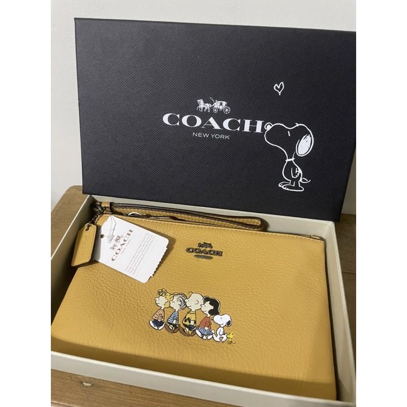 Snoopy x Coach聯名款包(附盒子)