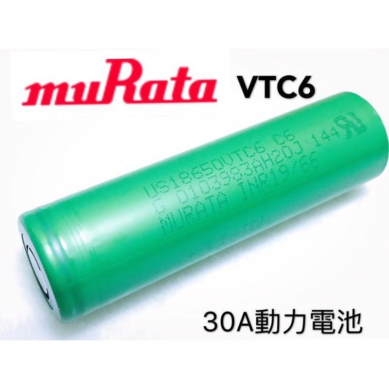 SONY VTC6 VTC4 21700 (MURATA 村田)电池3000mah 30A放电BSMI R33021