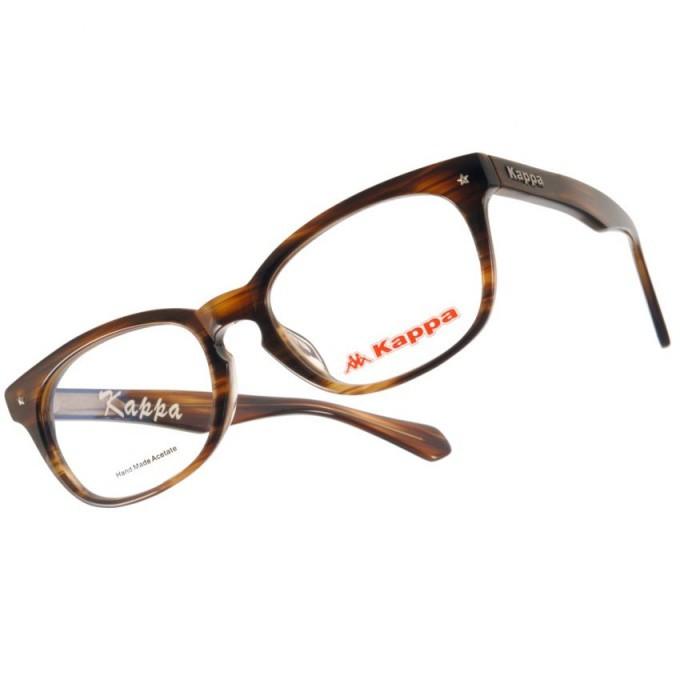 KAPPA 光學眼鏡 KP1032 FBW 沉穩風格設計款-金橘眼鏡