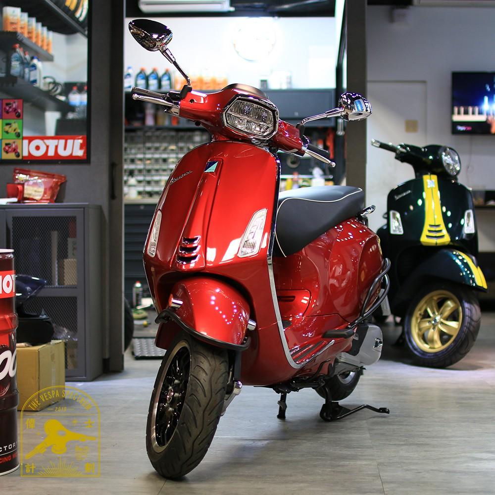 【新北峰雨】 Vespa Sprint 125 i-get ABS 偉士牌 雪地白 火山黑 消光灰 火焰紅 獵焰緋紅