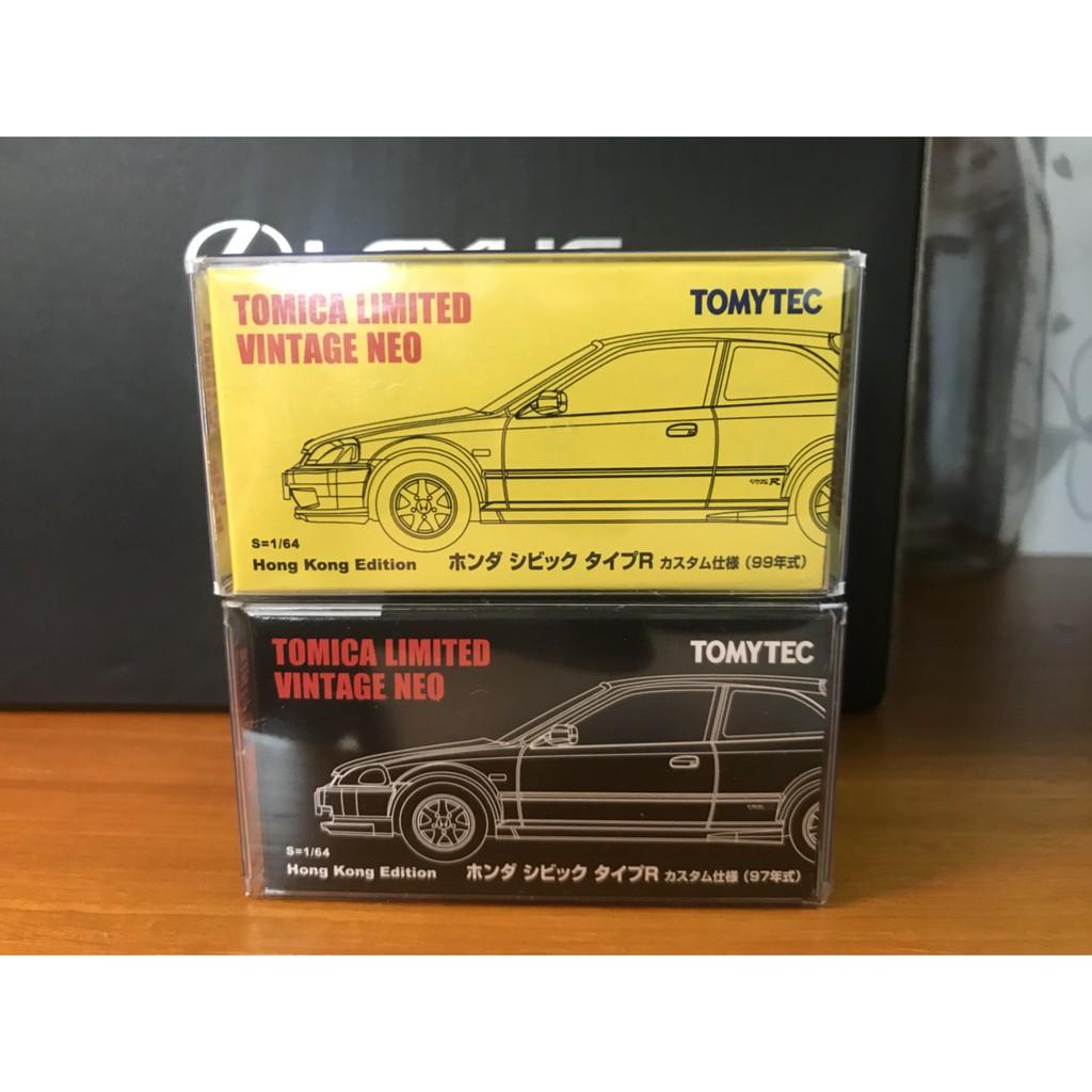 TOMYTEC Tomica 1/64 多美 香港限定 本田 喜美 Civic Type R EK9 現貨 附膠盒