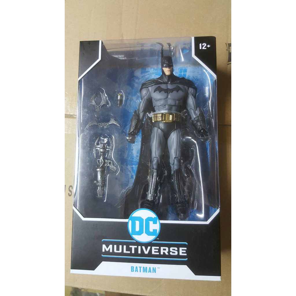 全新現貨 代理版 麥法蘭 DC Multiverse 7吋 阿卡漢瘋人院 蝙蝠俠 BATMAN 可動完成品