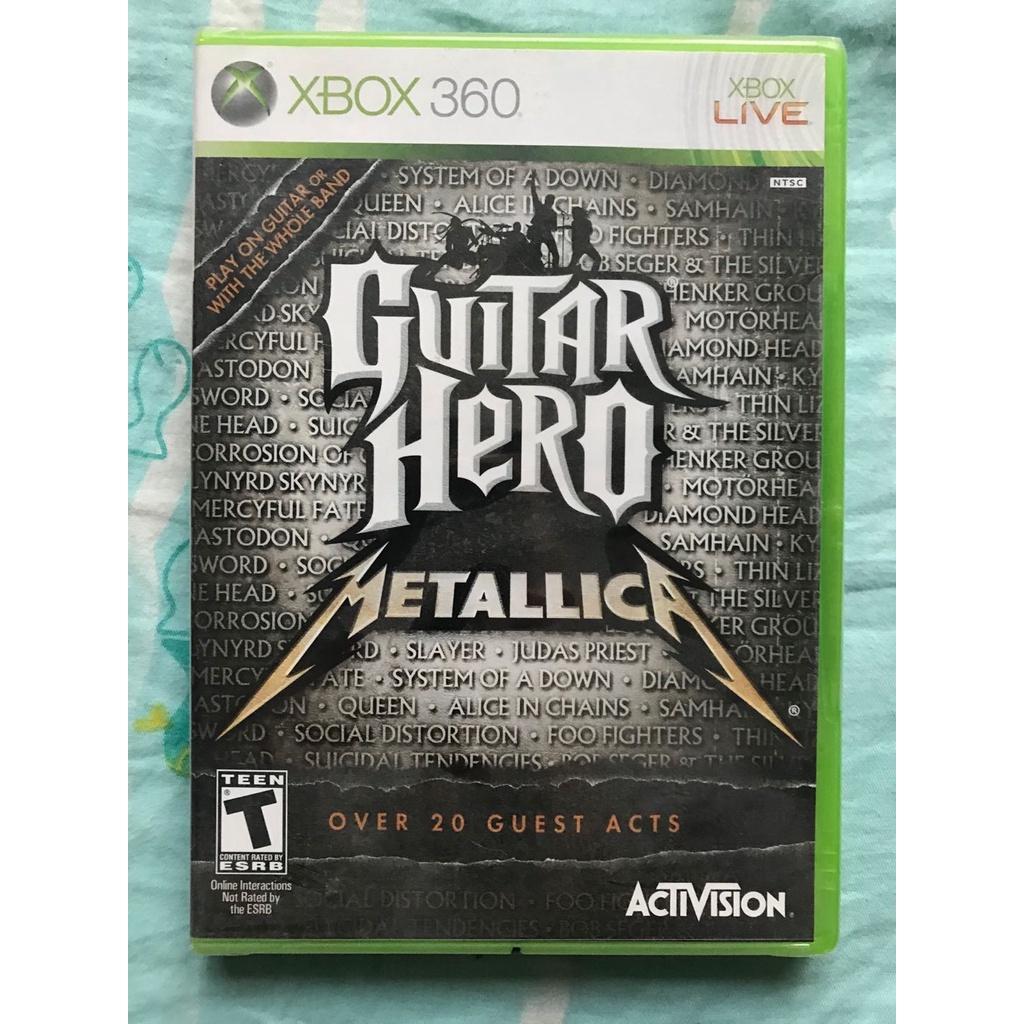 全新 XBOX360游戲 吉他英雄金屬樂隊 回收游戲主機遊戲達人必備 現貨