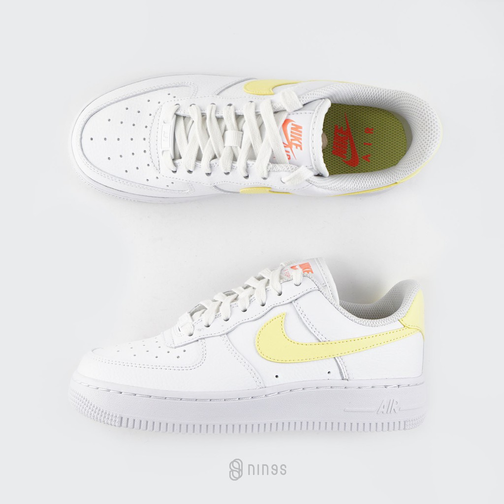 NIKE WMN AIR FORCE 1 07 LE LOW 小黃勾 315115160
