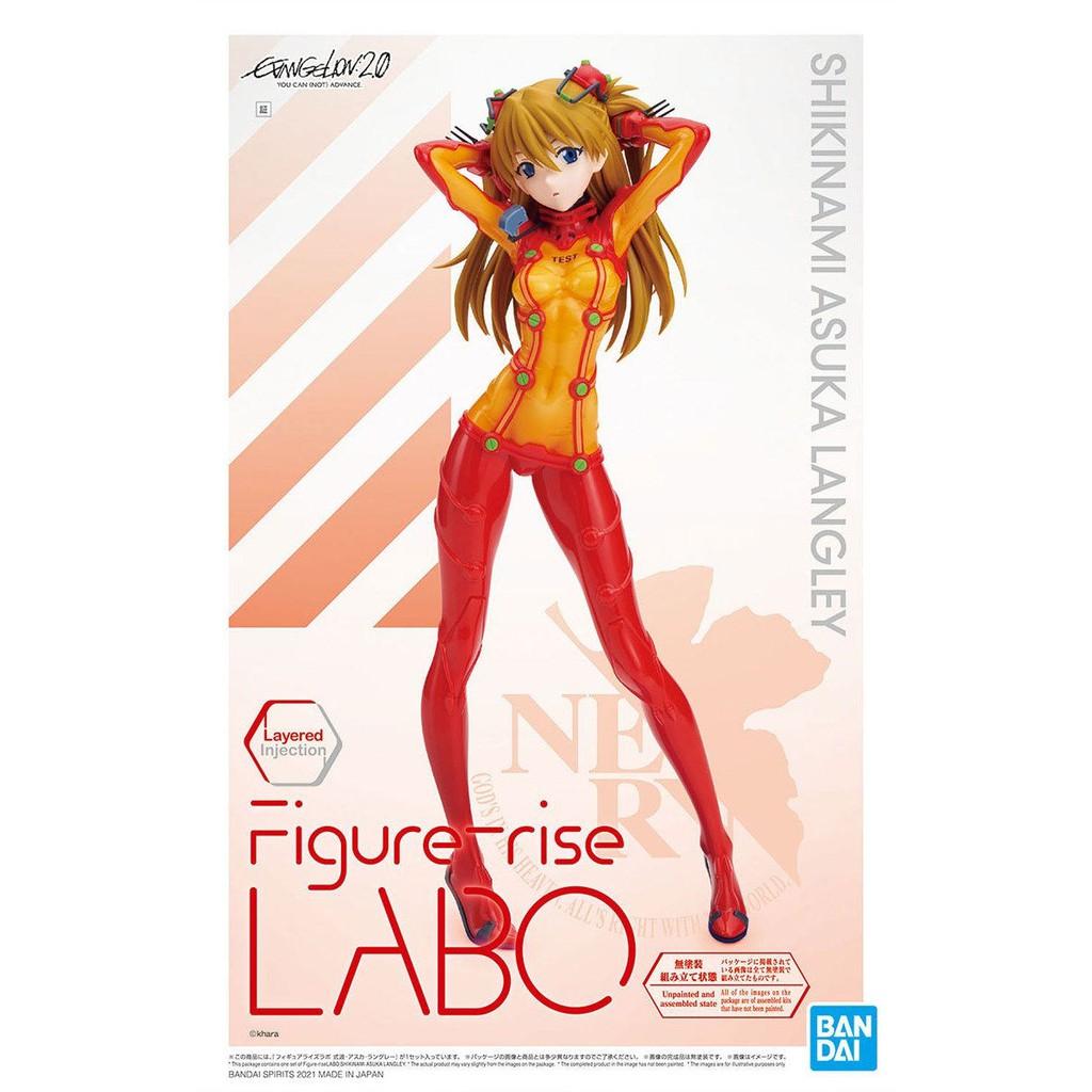 ◆弘德模型◆ [現貨] Figure-rise LABO 式波・明日香・蘭格雷 福音戰士 明日香