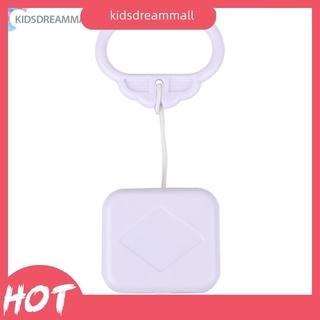 KIDSDEAR Anysell88拉線繩音樂盒白色嬰兒嬰兒兒童床鈴搖鈴玩具禮物