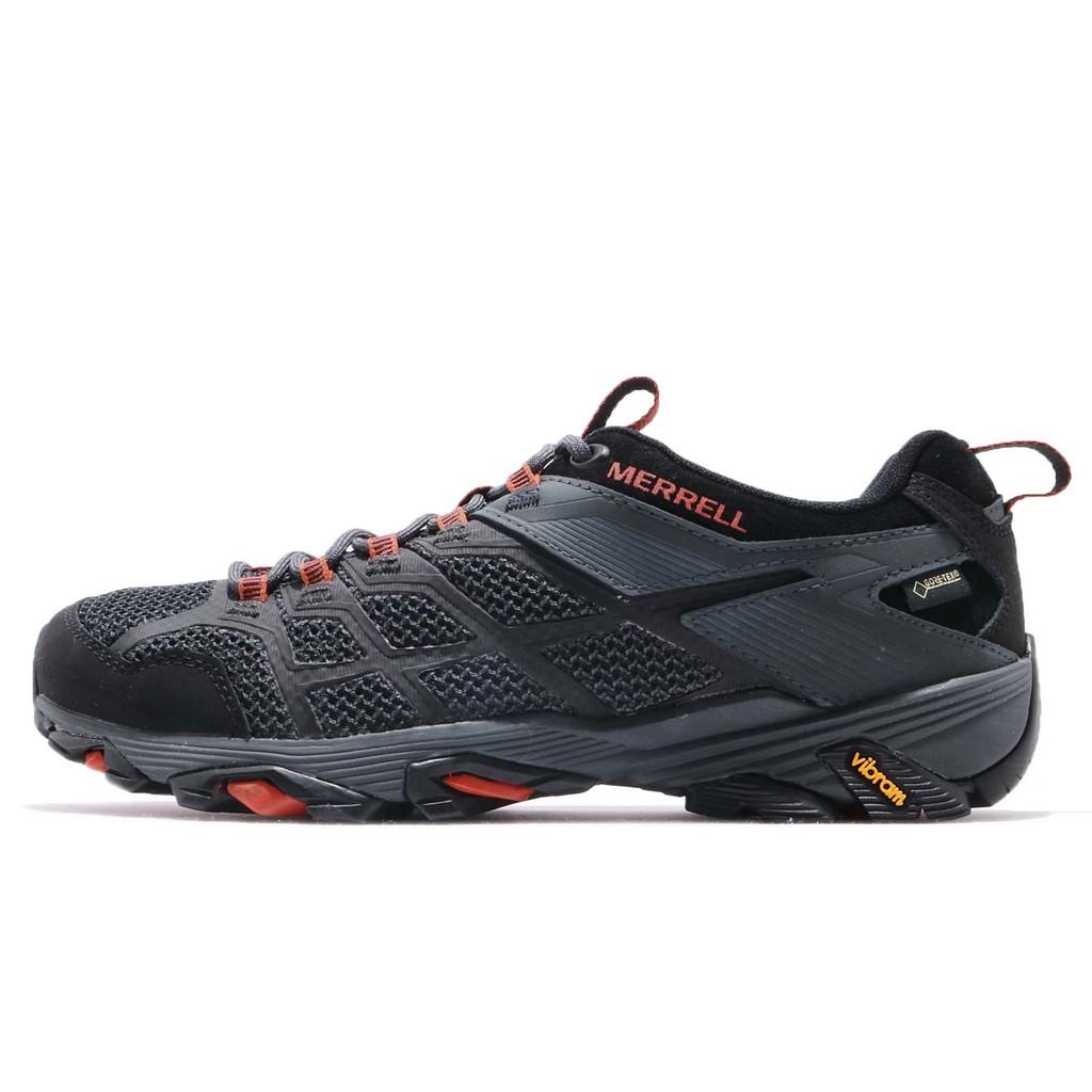 Merrell 戶外鞋 Moab FST 2 GTX 紫 紅 男鞋 Gore-Tex 防水【ACS】 ML77443
