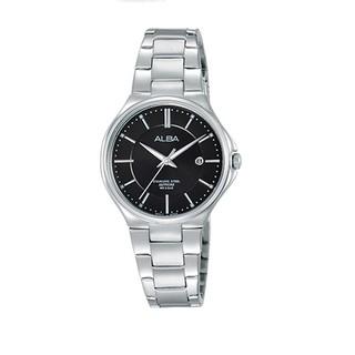 ALBA 都會優雅 藍寶石鏡面日期腕錶(黑/ 28.5mm) VJ22-X226D(AH7J65X1) 基隆市