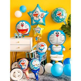 hi5促銷哆啦A夢叮當機器貓主題氣球兒童生日派對布置寶周歲百天場景裝飾