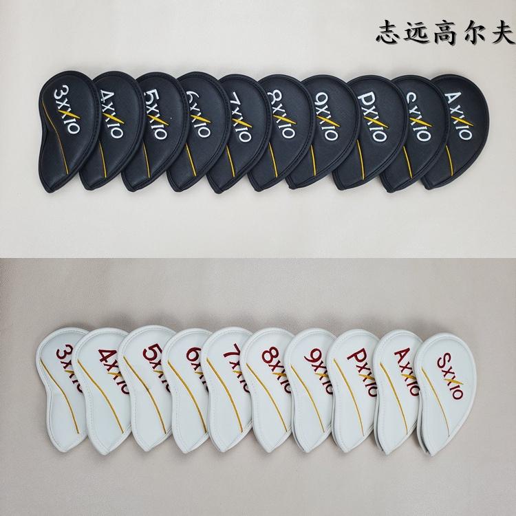 XXIO高爾夫球鐵桿套 桿頭套帽套 球桿保護套高爾夫球桿XX10球頭套