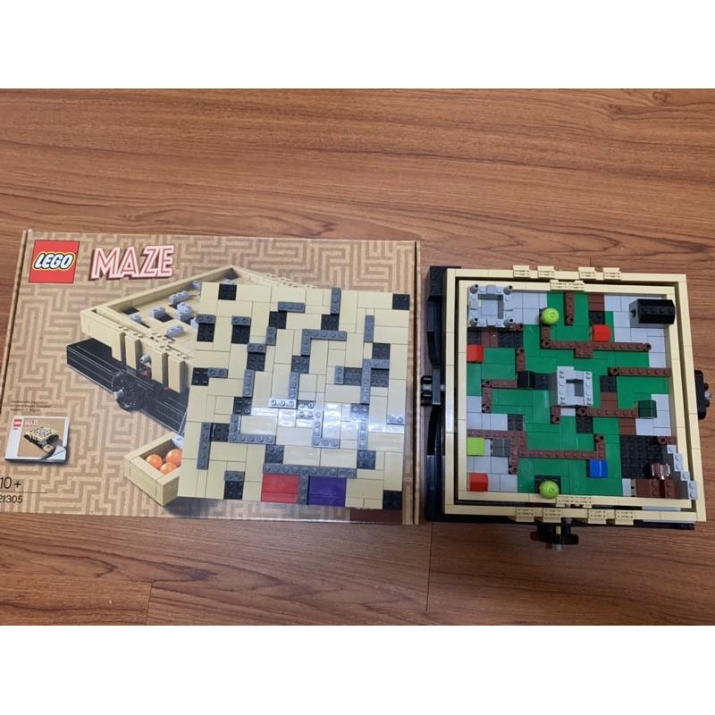 LEGO 21305 二手。磚極新 盒書都在