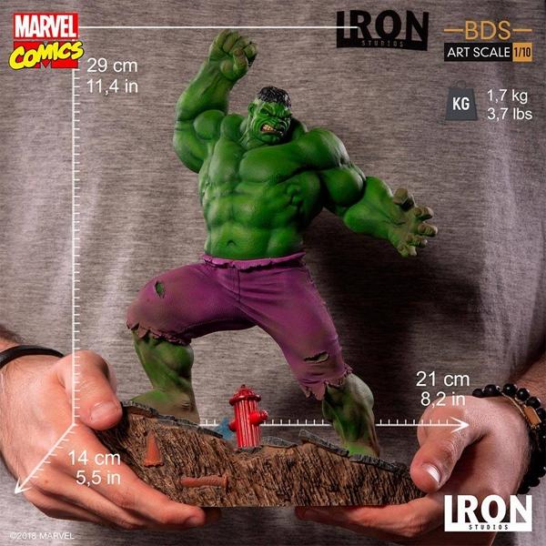【現貨】IRON STUDIOS 巴西廠 1/10 Marvel漫畫 綠巨人 浩克 Hulk Taurus公仔GK