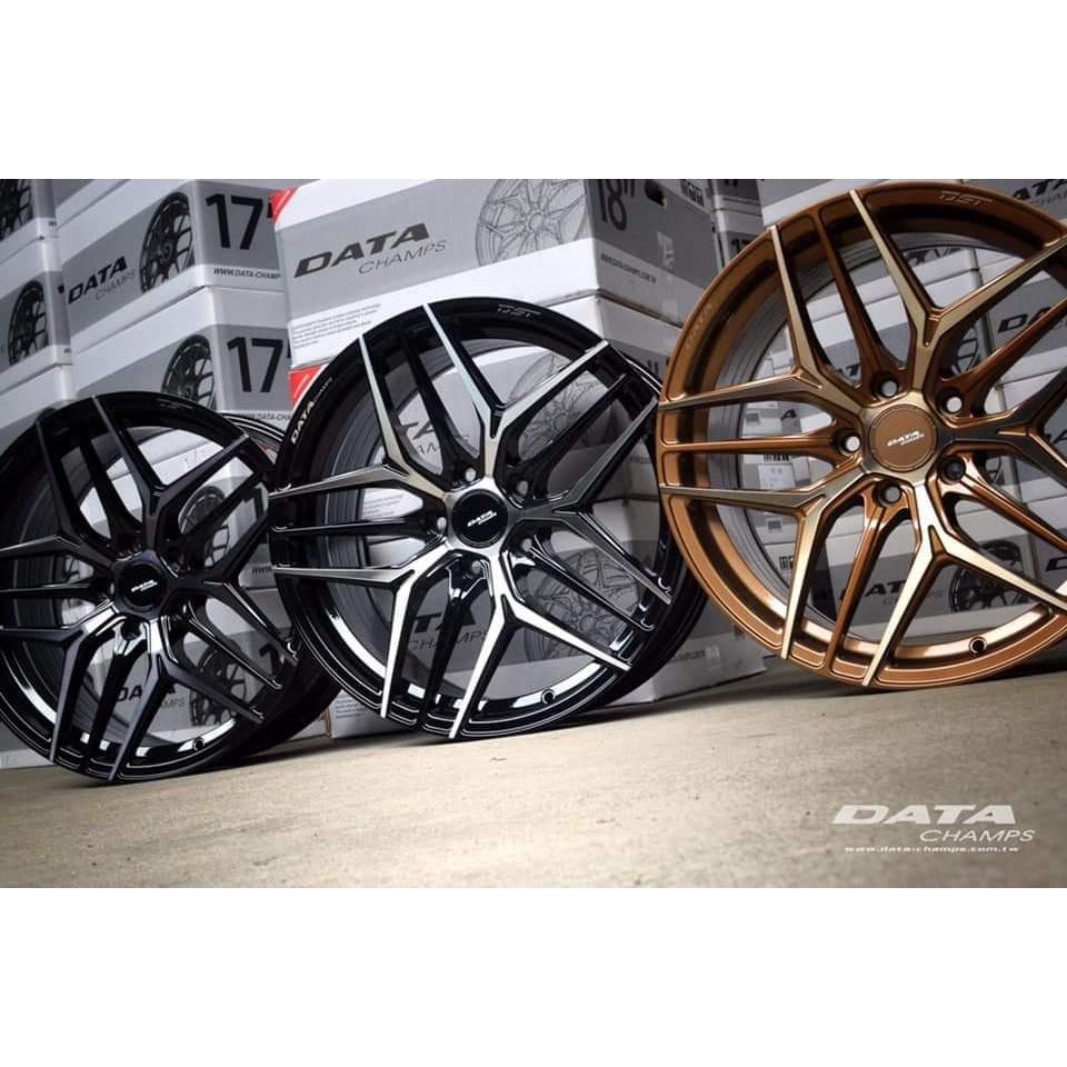 高雄人人輪胎 DATA FF09 18吋 8.5J 17吋 7.5J 旋壓鋁圈 5孔 100 108 112 114.3