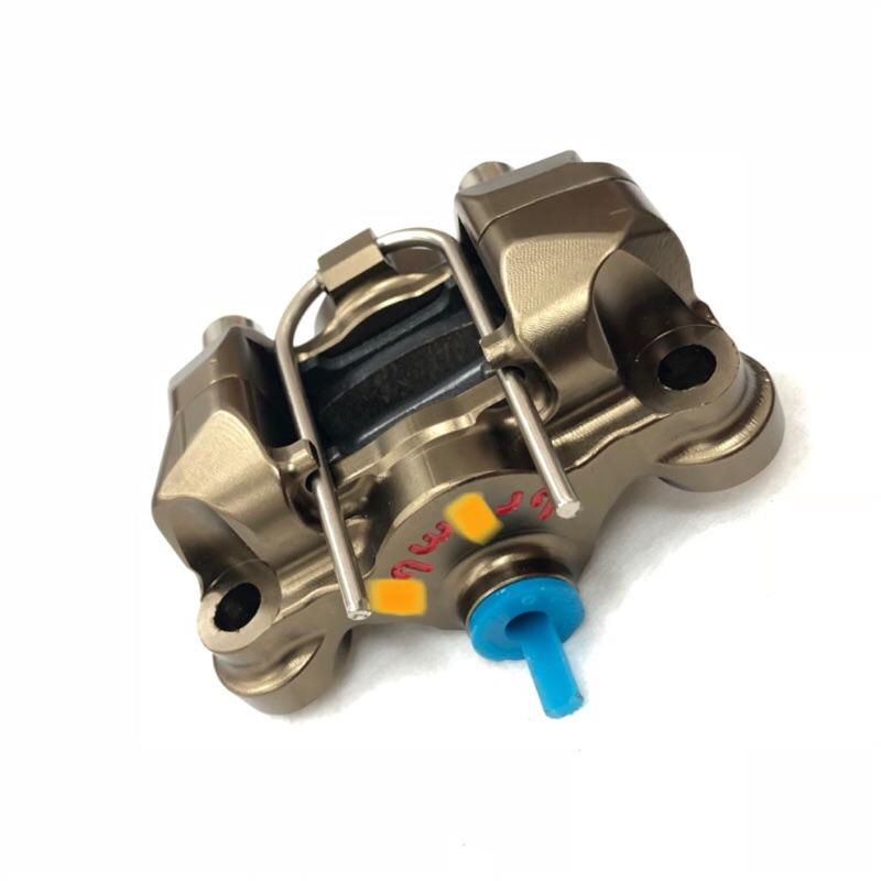 輻射對二卡鉗 仿B卡鉗 MOTO GP 新勁戰 大螃蟹 四代 五代 後碟 對四卡鉗 對二 輻射卡鉗 碟盤 煞車皮 245