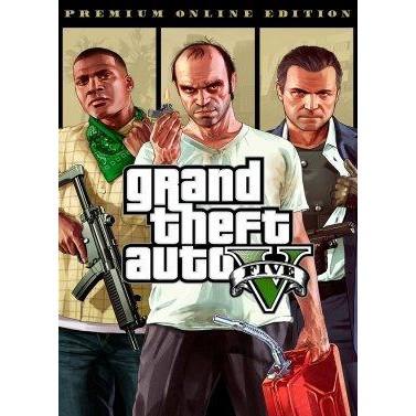 波谷商店 PC繁體中文 Grand Theft Auto V 俠盜獵車手5鯊魚卡 豪華版 GTA5 GTAV/官方序號