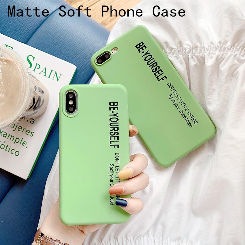 啞光三星Galaxy S10 S9 S8 plus S7 S6 Edge手機殼綠色柔軟磨砂TPU機殼簡單的矽膠後蓋
