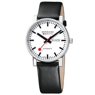 MONDAINE 瑞士國鐵經典機械錶/ 40mm 132311 新北市