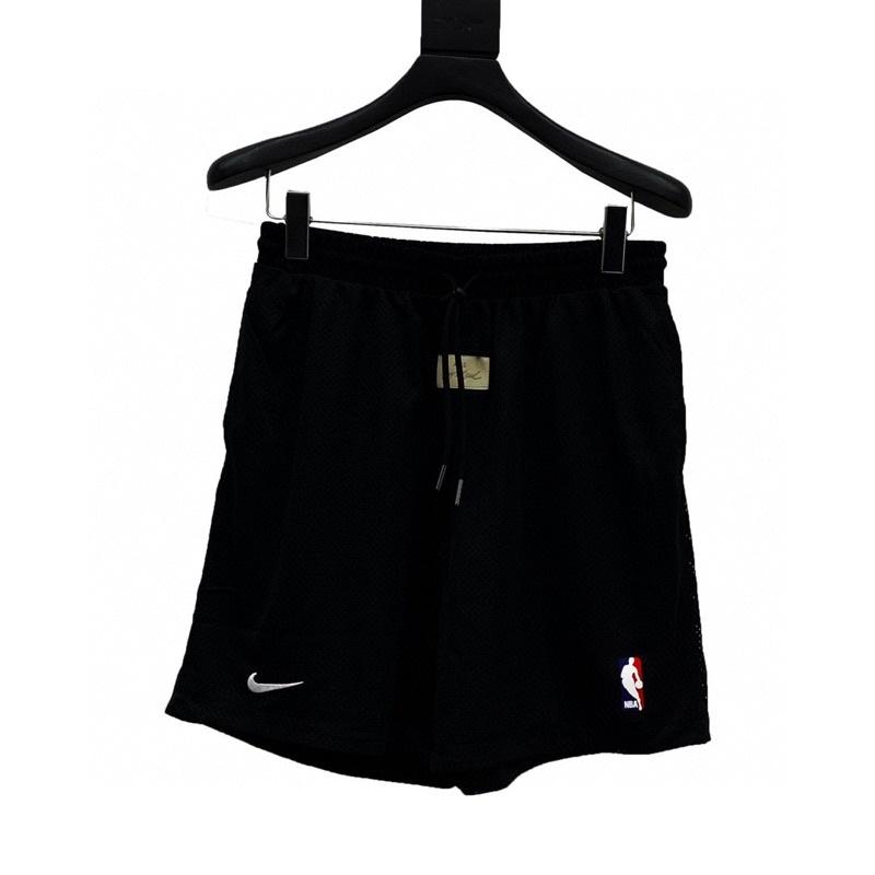[親愛的買家]FOG x Nike x NBA 三方聯名 網眼 休閒 運動 短褲 時尚 潮流 男女同款 k