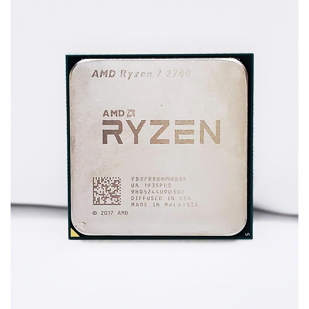 有貨喔!✌ AMD Ryzen7 2700 (R7-2700)盒裝 散裝