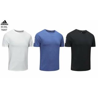 Adidas 服飾 男士 白色 短袖 圓領 休閒運動兩用 室內外常規款式上衣 M-2XL四碼數 宜蘭縣