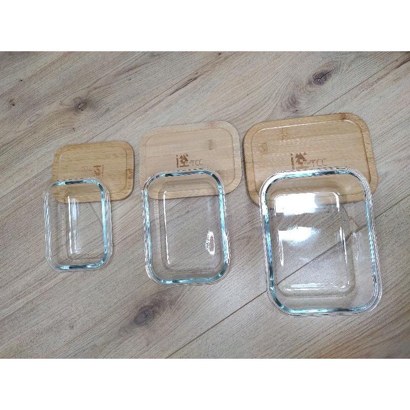 竹蓋玻璃保鮮盒 台泥 中橡 股東會紀念品