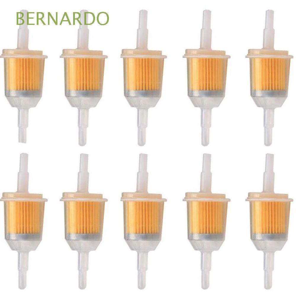 "BERNARDO 機車通用小型發動機割草機用1/4""內部篩檢程式筦道直列式氣體燃料篩檢程式/多種顏色"