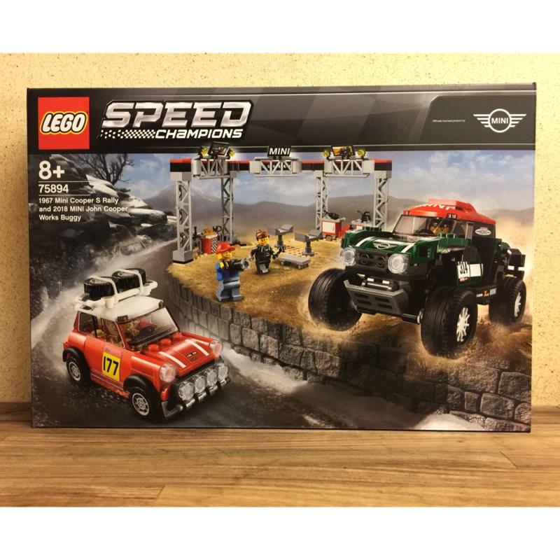 LEGO 75894 Mini Cooper S Rally & Works Buggy
