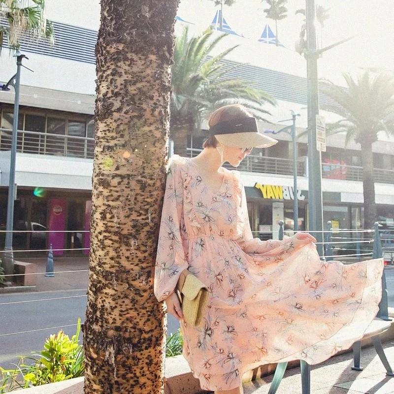 [ASPEED] 甜而不失女人味飄逸造型洋裝