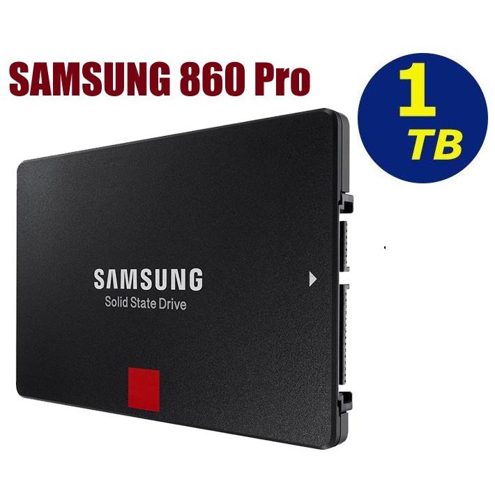 三星Samsung SSD 860 PRO 1TB/(MZ-76P1T0BW) 固態硬碟