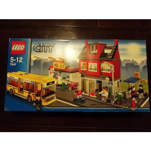 WD  樂高 Lego 7641 城市一角